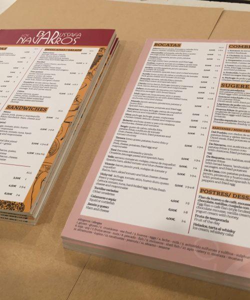 Imprenta cartas rígidas estudio imprenta ruzafa valencia